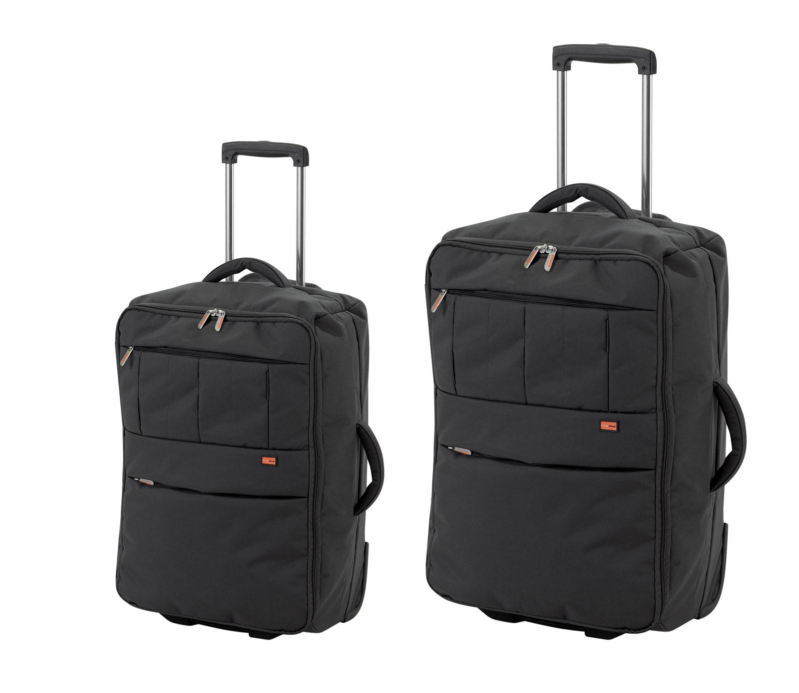 trolley promotionnel set de 2 valises souples ultra legere. Black Bedroom Furniture Sets. Home Design Ideas