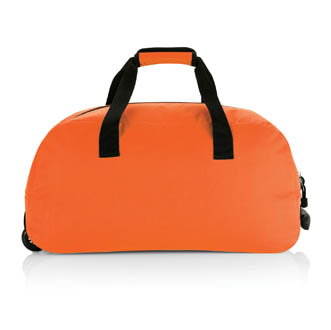 orange - cadeau dentreprise trolley sac-port