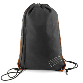 noir-orange - Gym bag ZIG ZAG PACK