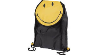 noir - Sac à dos Smiley