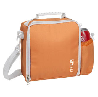 orange - Sac isotherme en polyester 600D