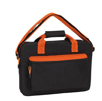 noir-orange - Sac reporter Neon