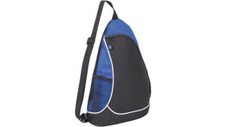 noir-royal blue - Sac triangle