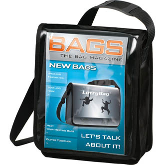 Sacoche publicitaire. DisplayBag ECO vertical - sac-à-dos personnalise