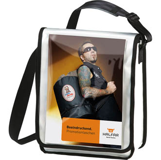 Sacoche publicitaire. DisplayBag vertical - sac-à-dos personnalise