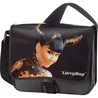 anthracite - Sacoche publicitaire. LorryBag Modul 2
