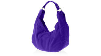 violet - Shoulder Moon Bag
