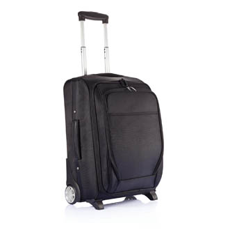 gris - trolley personnalisable sac-a-dos-avion