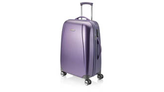 violet - trolley personnalisé Carbon Spinner Large