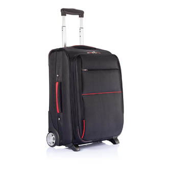 rouge - trolley publicitaire grand-sac-extensible