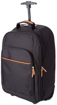 Trolley-publicitaire-orangel-bckpck-trolley-noir-orange