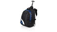 noir-blanc - cadeau dentreprise trolley  backpack