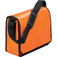 orange - Sacoche publicitaire. LorryBag -The Original-sac en bâche de camion